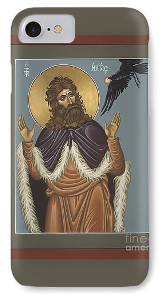 IPhone Case featuring the painting Holy Prophet Elijah 009 by William Hart McNichols