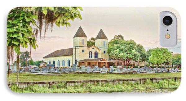 Holy Rosary Church Phone Case by Scott Pellegrin