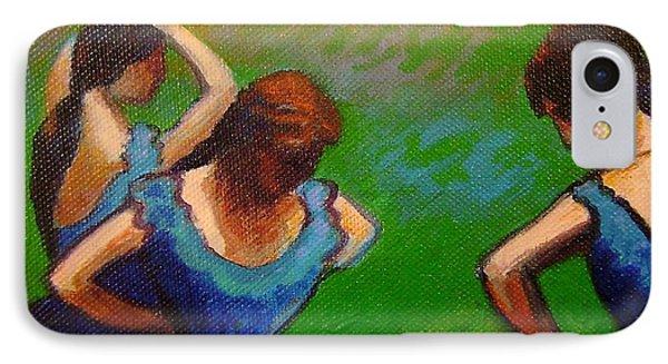 Homage To Degas II Phone Case by John  Nolan