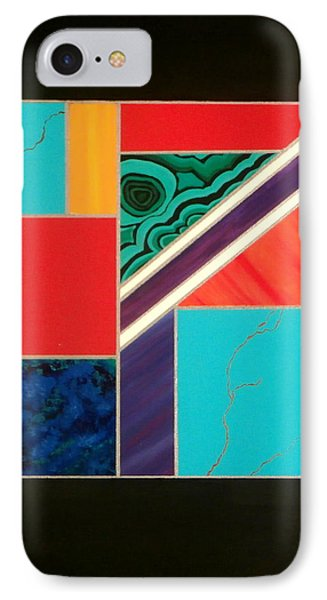 Homage To Inlay #1 Phone Case by Karyn Robinson