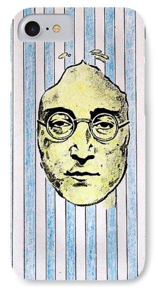 Homage To John Lennon  Phone Case by John  Nolan
