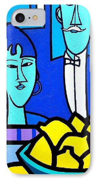 Homage To Modigliani Phone Case by John  Nolan