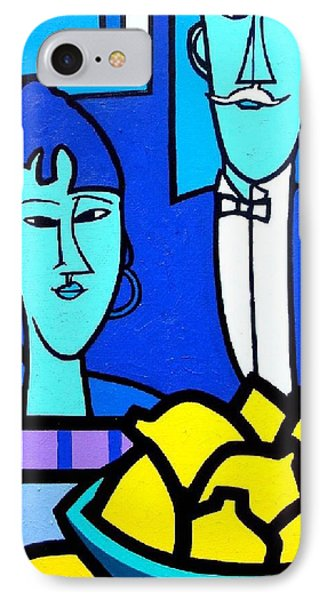 Homage To Modigliani IPhone Case