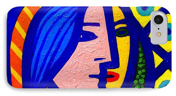 Homage To Pablo Picasso Phone Case by John  Nolan
