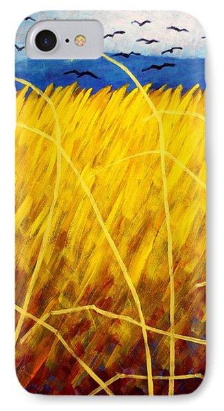 Homage To Van Gogh   Cropped IPhone Case