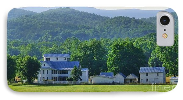 Homan Mill And Homestead IPhone Case by Teena Bowers