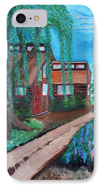 IPhone Case featuring the painting Home by Cassie Sears