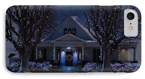 IPhone Case featuring the photograph Home For Christmas by Bonnie Willis