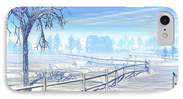 Home For The Holidays IPhone Case by John Pangia