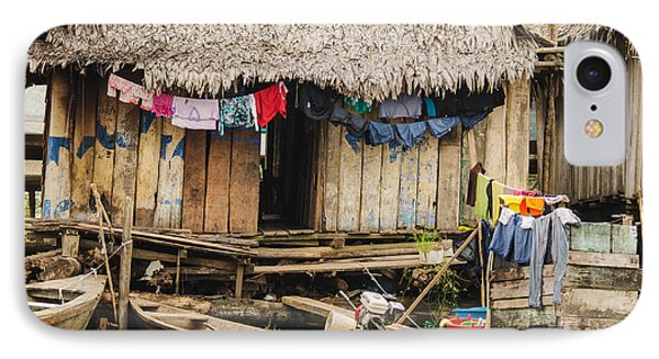 Home In Shanty Town IPhone Case by Allen Sheffield