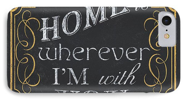 Home Is... IPhone Case by Debbie DeWitt