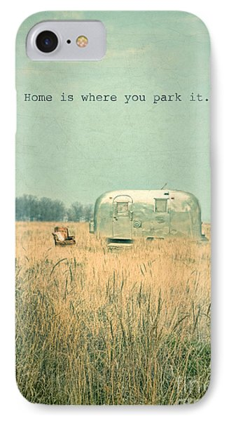 Home Is... IPhone Case by Jill Battaglia