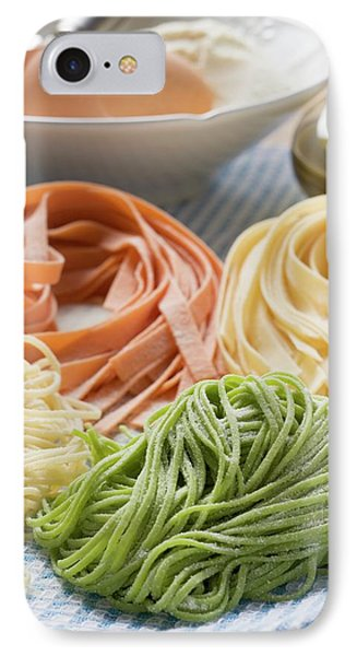 Home-made Pasta With Ingredients IPhone Case