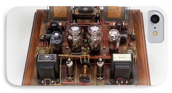 Home-made Radio Amplifier IPhone Case by Dorling Kindersley/uig