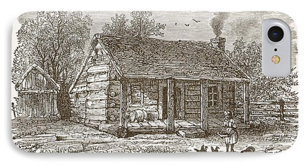 Home Of Lincoln At Gentryville IPhone Case