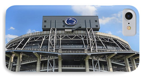 Penn State University iPhone 7 Case - Home Of The Lions by Dawn Gari