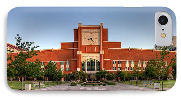 Home Of The Sooners Panorama IPhone Case