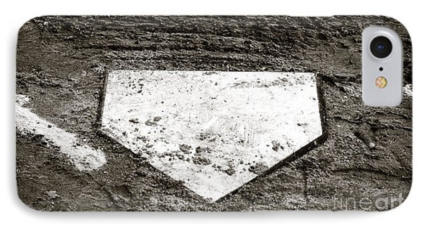 Home Plate Phone Case by John Rizzuto