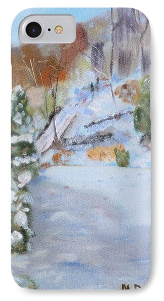IPhone Case featuring the painting Home Scene South by Michael Daniels