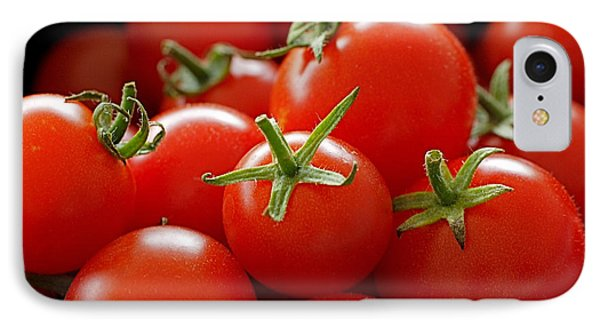 Homegrown Tomatoes Phone Case by Rona Black