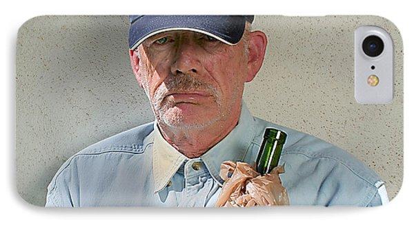 Homeless Wino IPhone Case