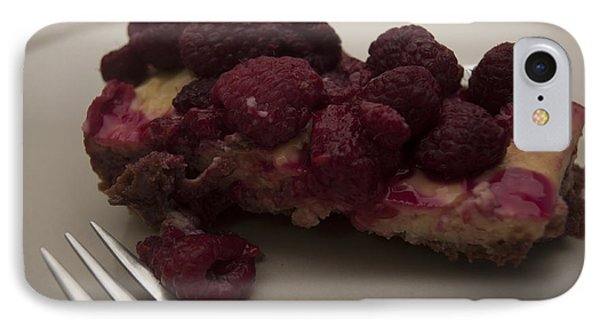 IPhone Case featuring the photograph Homemade Cheesecake by Miguel Winterpacht