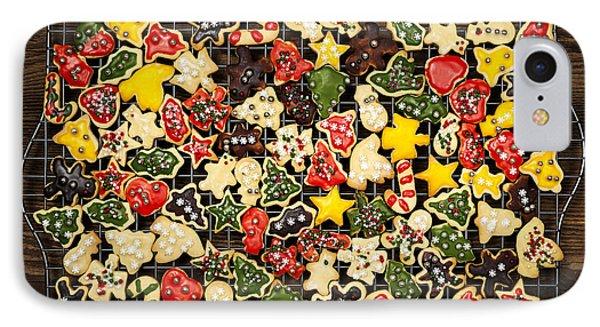 Homemade Christmas Cookies Phone Case by Elena Elisseeva