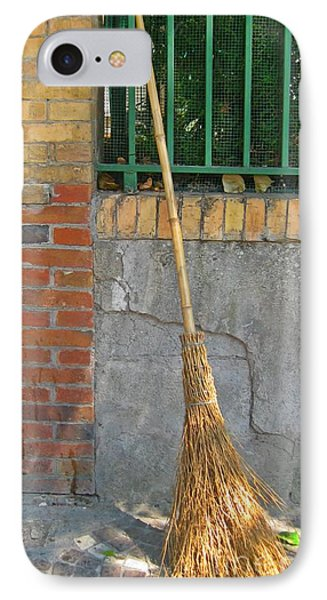 Homemade Straw Broom IPhone Case