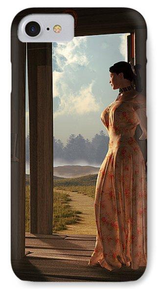 Homestead Woman Phone Case by Daniel Eskridge