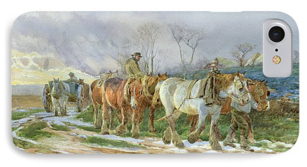 Homeward Bound Phone Case by Charles James Adams