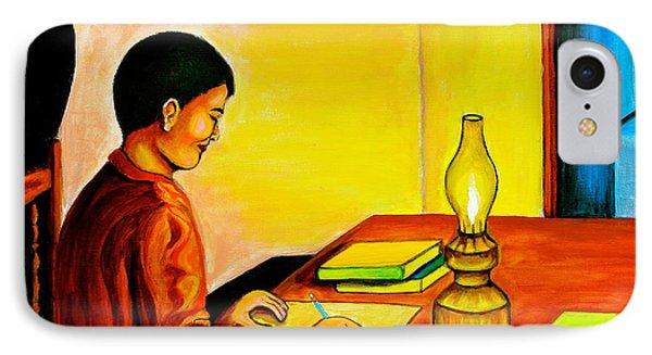 Homework Phone Case by Cyril Maza
