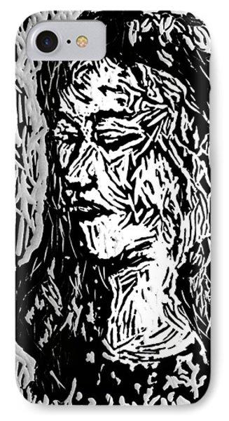 Homoface #11 IPhone Case by Alfredo Gonzalez