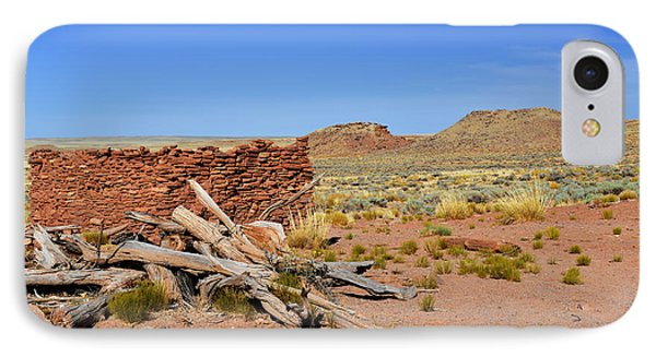 Homolovi Ruins State Park Arizona Phone Case by Christine Till