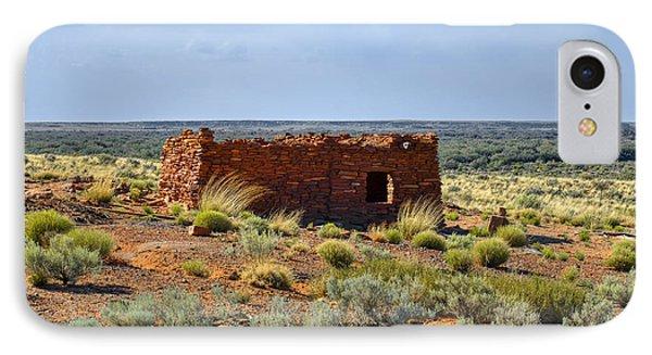 Homolovi Ruins State Park Az Phone Case by Christine Till