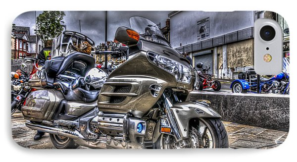 Honda Goldwing 2 IPhone Case by Steve Purnell