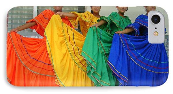 Honduran Dancers IPhone Case