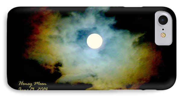 IPhone Case featuring the photograph Honey Moon by Cindy Wright