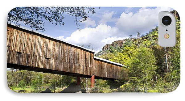 Honey Run Covered Bridge IPhone Case