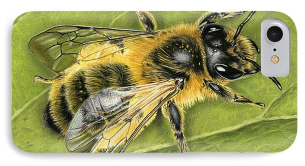 Honeybee On Leaf IPhone 7 Case