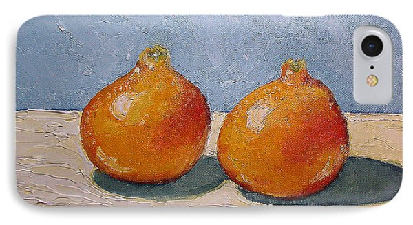 IPhone Case featuring the painting Honeybells - The Perfect Couple by Katherine Miller