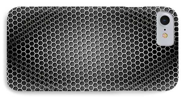 Honeycomb Background Seamless Bw IPhone Case