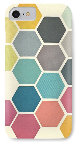 Honeycomb II IPhone Case by Cassia Beck