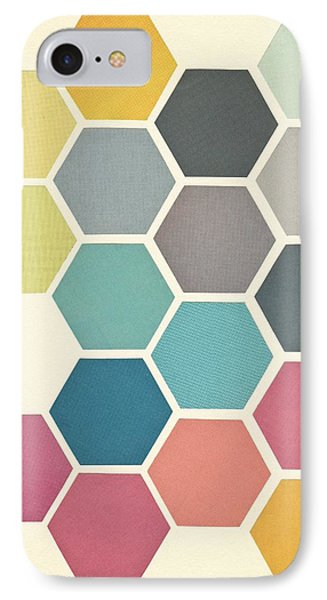Simple iPhone 7 Case - Honeycomb II by Cassia Beck
