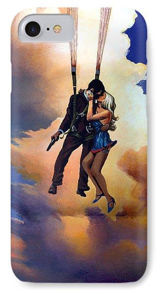 Honeymoon Over Zagreb Phone Case by Geoff Greene
