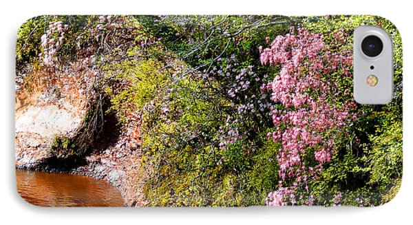 Honeysuckle On Buckatunna Creek IPhone Case by Lanita Williams