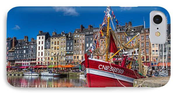 Honfleur Normandy IPhone Case by Tim Stanley