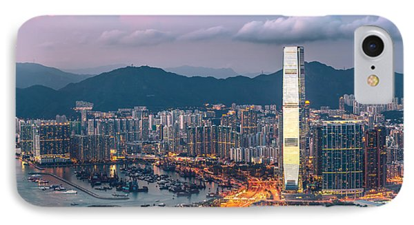 Hong Kong 17 IPhone Case by Tom Uhlenberg