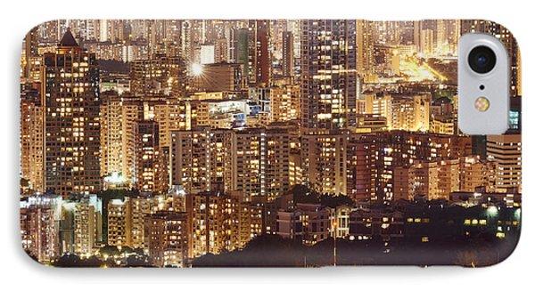 Hong Kong City Density IPhone Case