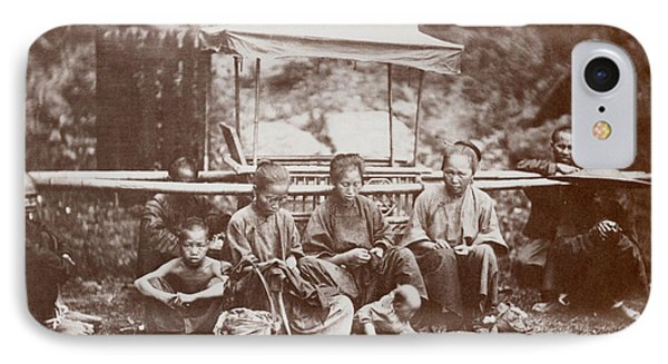 Hong Kong Family, 1860s IPhone Case by Granger