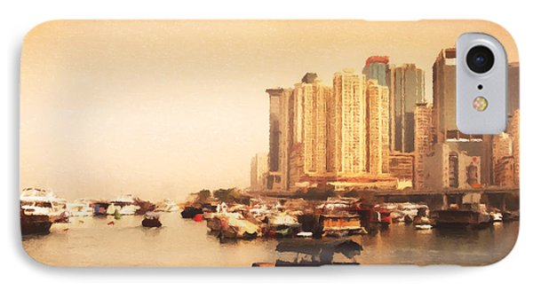 Hong Kong Harbour 02 IPhone Case